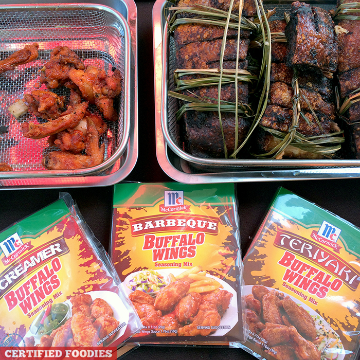 McCormick Buffalo Wings Seasoning Mix at McCormick Flavor Nation Festival