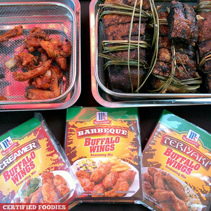 McCormick Buffalo Wings Seasoning Mix at McCormick Flavor Nation Festival