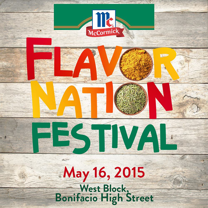 McCormick Flavor Nation Festival 2015 at Bonifacio Global City Taguig