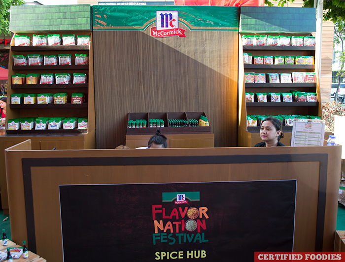McCormick Flavor Nation Festival Spice Hub at Bonifacio High Street BGC