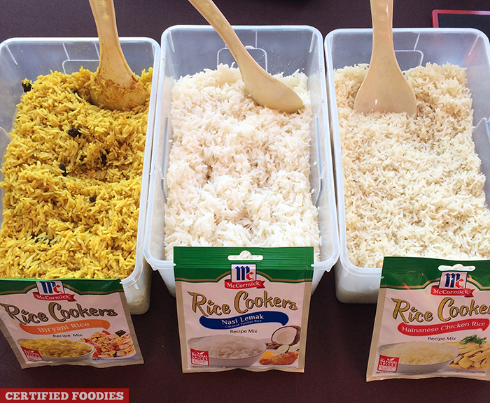 McCormick Rice Cookers Recipe Mix at McCormick Flavor Nation Festival