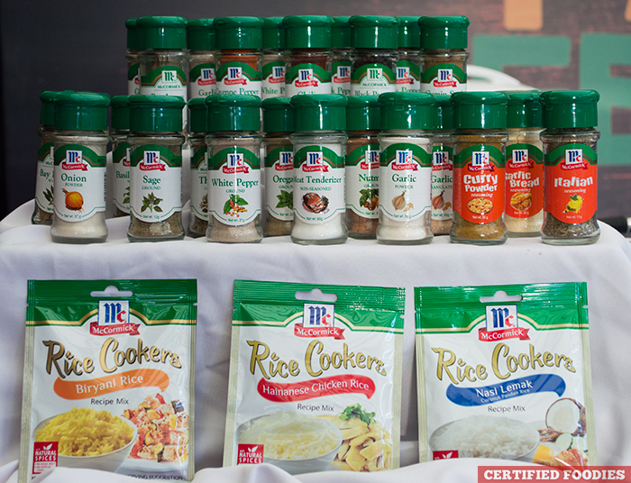 McCormick Spices and McCormick Rice Cookers Philippines - McCormick Flavor Nation Festival