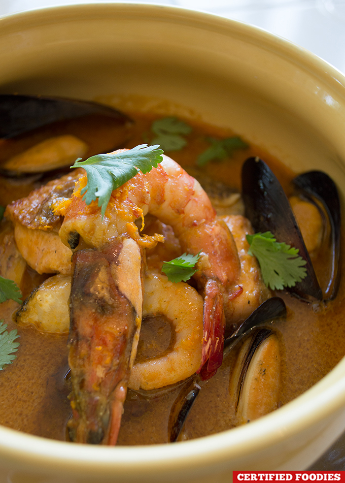 Mediterranean Seafood Bouillabaisse from Restaurant Verbena in Discovery Country Suites Tagaytay