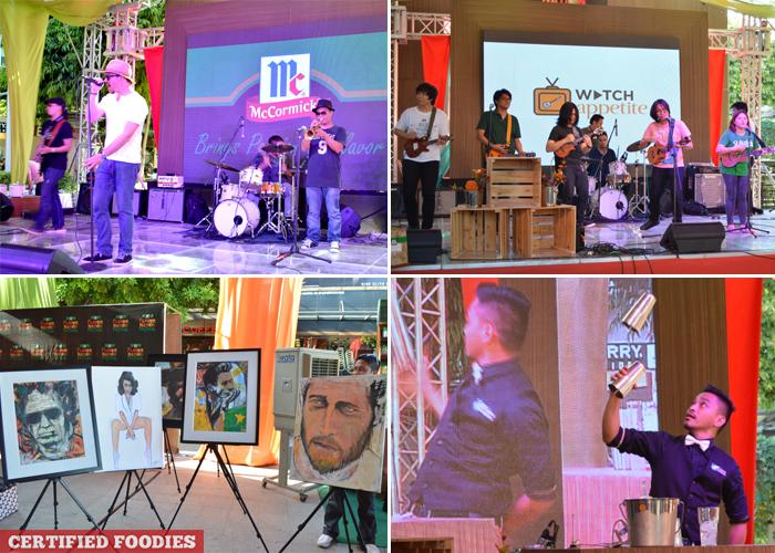 Mixology Musical Performances and Art Display at McCormick Flavor Nation Festival in Bonifacio High Street
