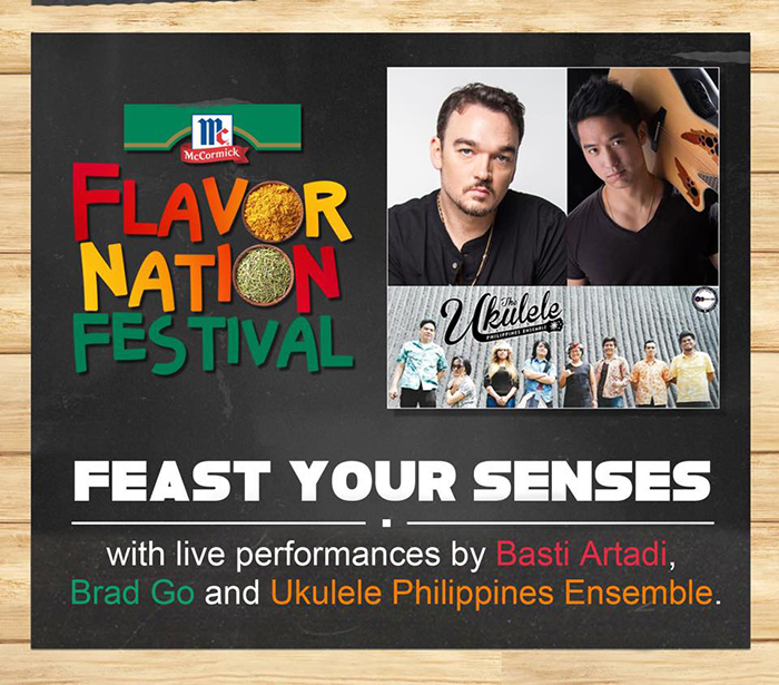 Musical Performances and Guests on McCormick Flavor Nation Festival 2015