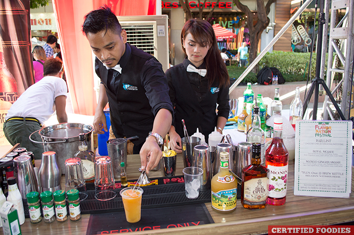 Spiced Beverage Bar at McCormick Flavor Nation Festival in Bonifacio High Street