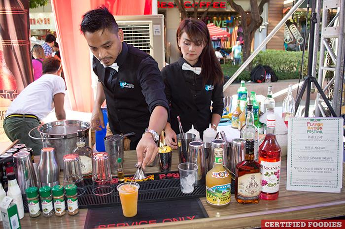 Spiced Beverage Bar at McCormick Flavor Nation Festival in Bonifacio High Street