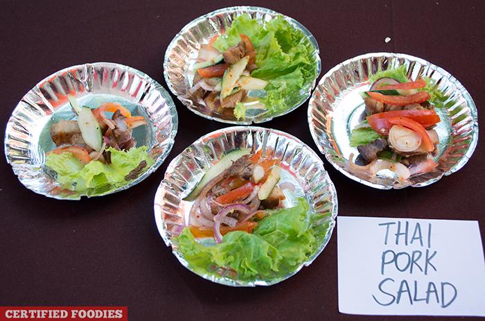Thai Pork Salad from McCormick Flavor Nation Festival in Bonifacio High Street