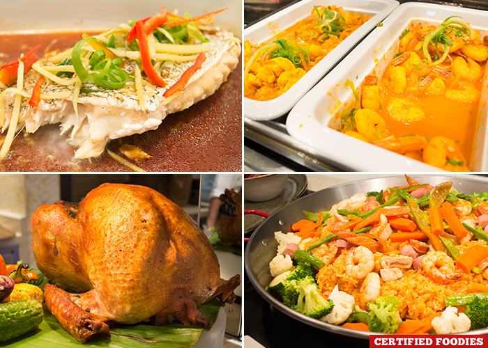 Authentic Filipino Dishes at Filipino Food Festival from Fresh Restaurant Solaire