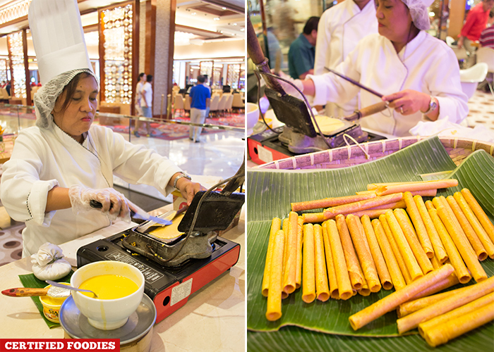 Barquillos from Pampanga at Fresh Solaire