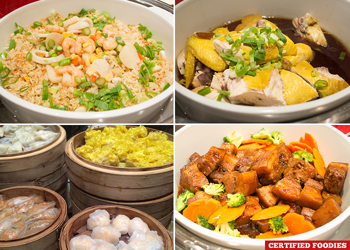 Chinese Dishes at Filipino Food Festival Fresh Solaire with Chef Sau del Rosario