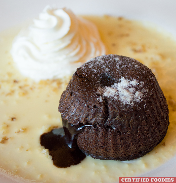 Chocolate Lava Cake from Highlands Prime Steakhouse at Estancia Mall Capitol Commons