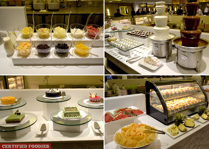 Dessert Section at Sambo Kojin SM Megamall Branch