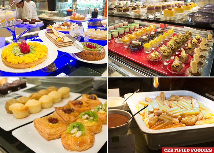 Dessert Station at Filipino Food Festival Fresh  Solaire with Chef Sau del Rosario
