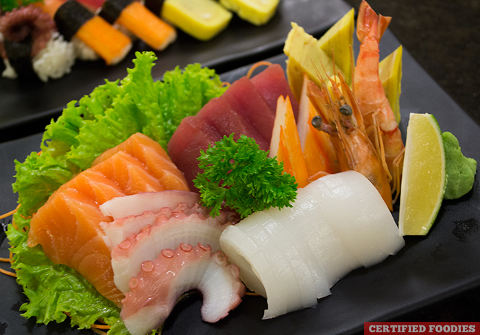 Fresh Japanese Sashimi from Sambo Kojin in SM Megamall