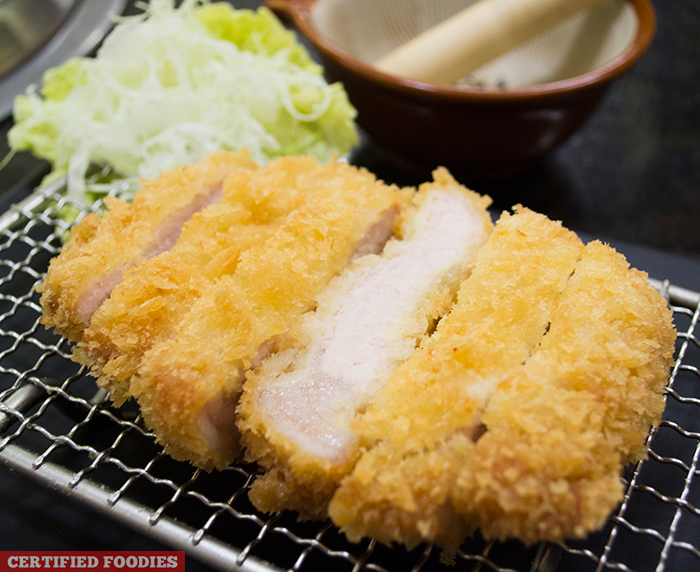 Juicy Pork Tonkatsu from Sambo Kojin in SM Megamall