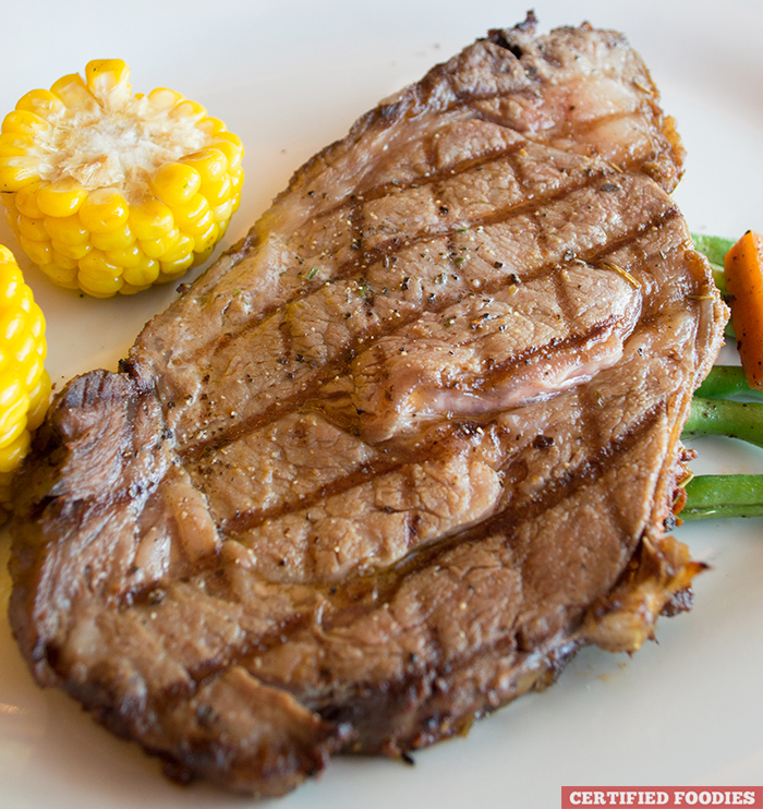 Ribeye Steak 14-Ounce from Highlands Prime Steakhouse at Estancia Mall Capitol Commons