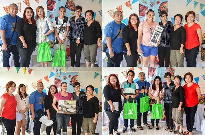 Winners of the Instagram contest, DiskarTip and Pinoy Henyo