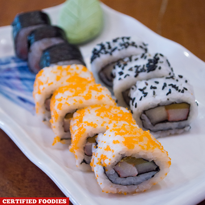 Assorted Maki Sushi from Sushi Master Japanese Restaurant in Malabon City