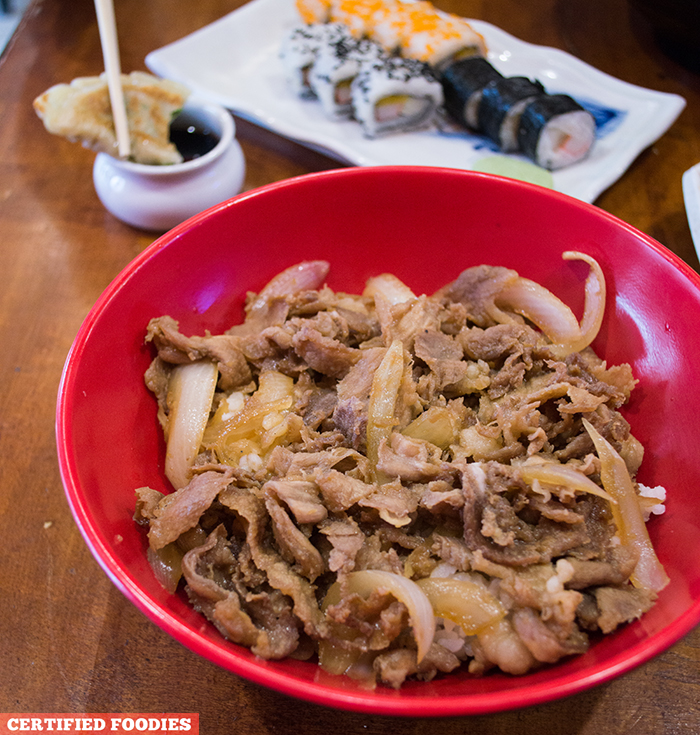 Beef Gyudon from Sushi Master Japanese Restaurant in Malabon City