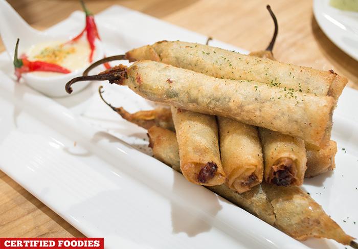 Chorizo Dinamitas from Kuya J Restaurant SM Megamall Mandaluyong