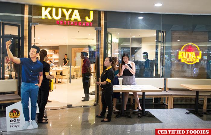 Facade Kuya J Filipino Food Restaurant SM Megamall Mandaluyong City