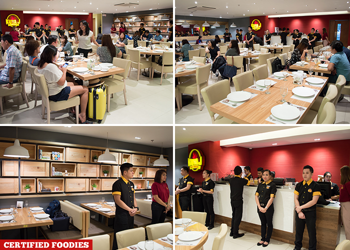 Interior of Kuya J Restaurant Filipino Food SM Megamall Mandaluyong City