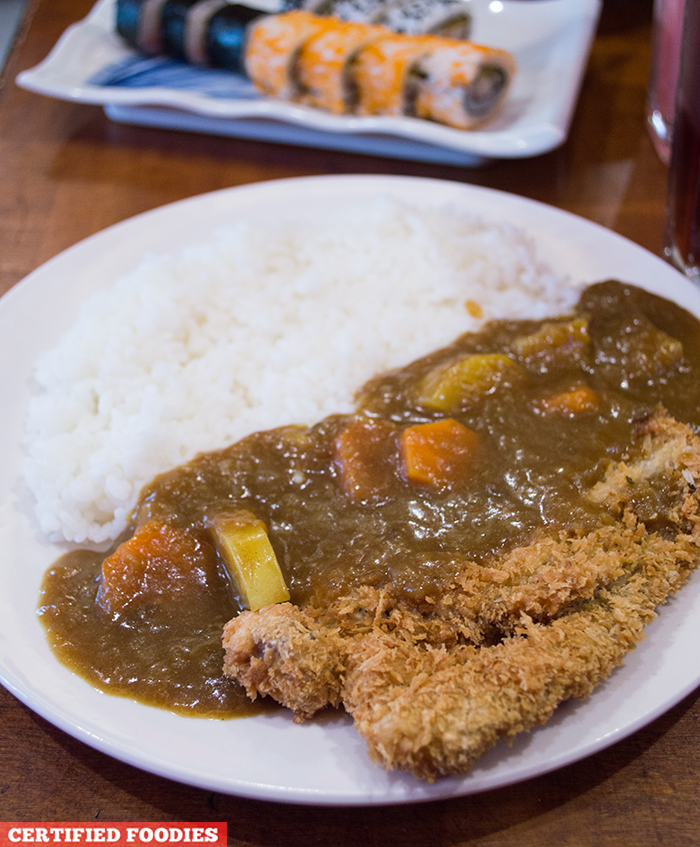 Katsu Curry from Sushi Master Japanese Restaurant in Malabon City