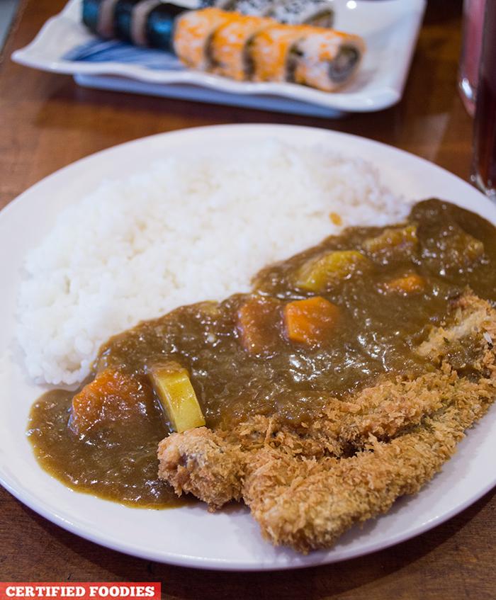 Katsu Curry from Sushi Master Japanese Restaurant in Malabon City