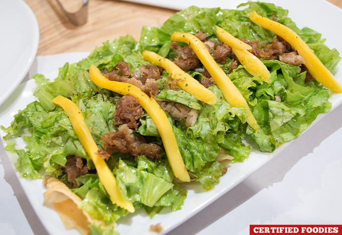 Mangga Tuna Salad from Kuya J Restaurant SM Megamall Mandaluyong