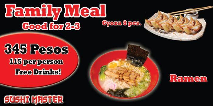 Sushi Master - Family Meal Promo