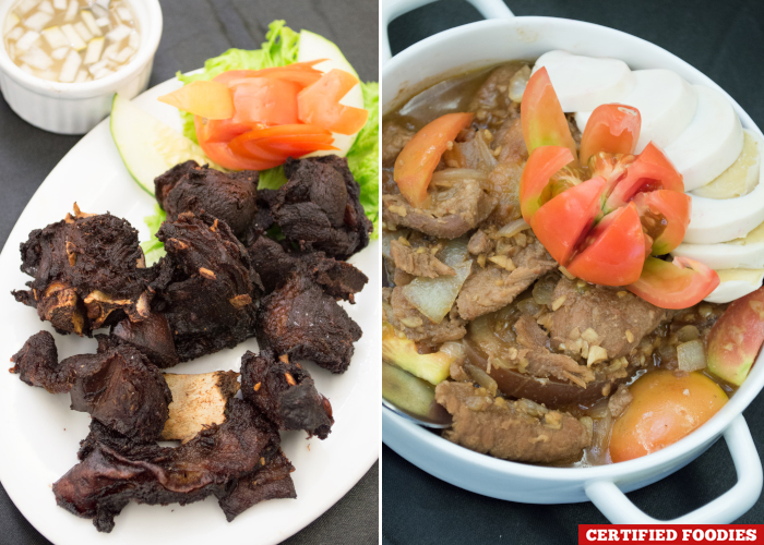 Adobong Kambing and Picasso ni Master from Master Garden Restaurant in Malabon City