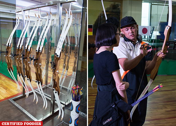 Archery Lessons at Gandiva Cafe and Archery Range in Ortigas Pasig City