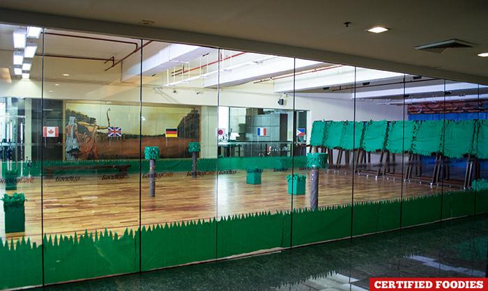 Facade Gandiva Cafe Archery Range in Ortigas Pasig City