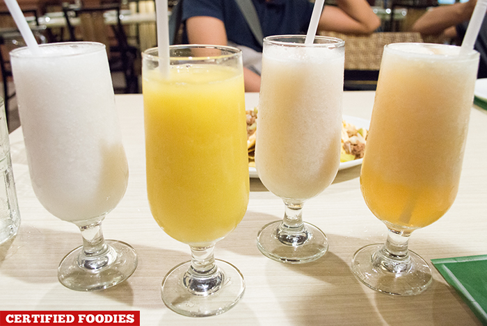 Fruit Shakes at Dencios Bar and Grill Restuarant Eastwood Taguig City