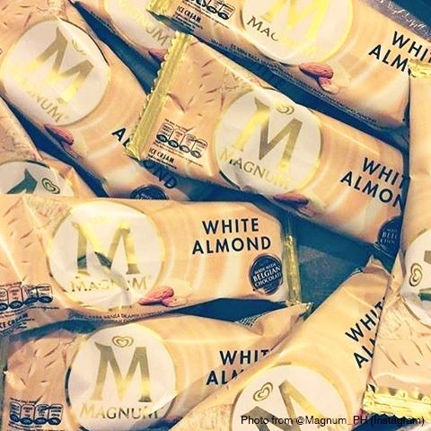 Magnum White Almond will be available starting on October 5, 2015