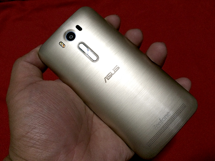 ASUS ZenFone 2 Laser Review - Design and Grip