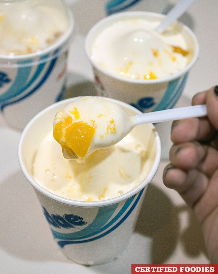 Peach Mango Sundae from Jollibee