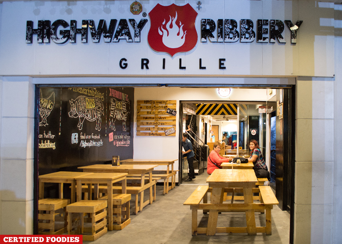 Highway Ribbery Grille Restaurant in Quezon City