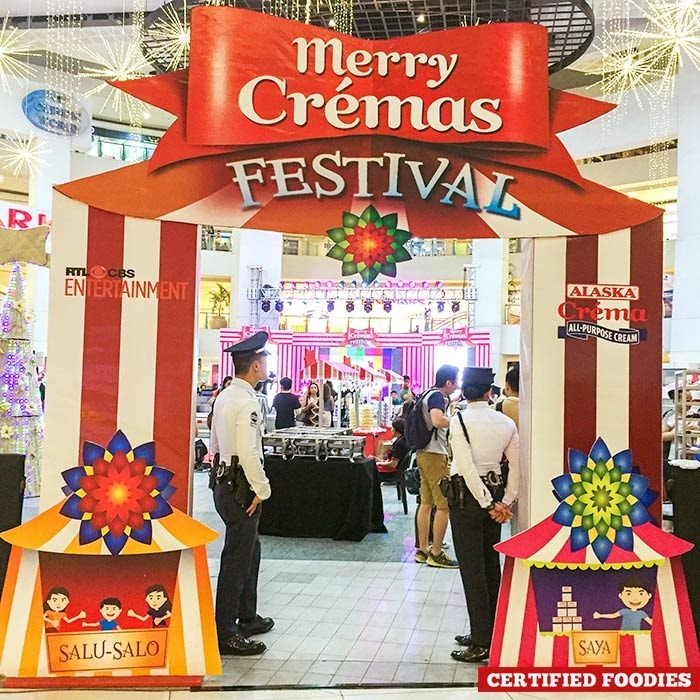 Merry Cremas Festival 2015 by Alaska Crema at Trinoma Activity Center