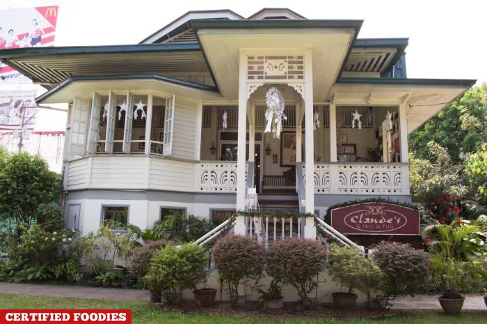 Facade Claude's Le Cafe de Ville Restaurant Davao City