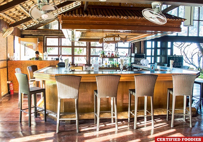Dugong Bar at Club Paradise Resort in Coron Palawan