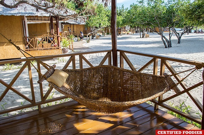Hammock at Club Paradise Resort in Coron, Palawan