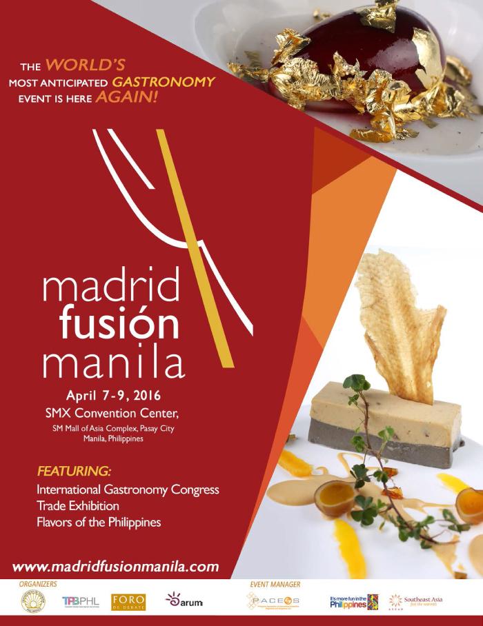Madrid Fusion Manila 2016