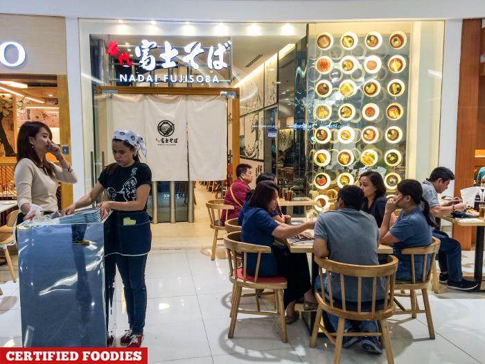 Nadai Fujisoba Japanese Restaurant SM North EDSA The Block