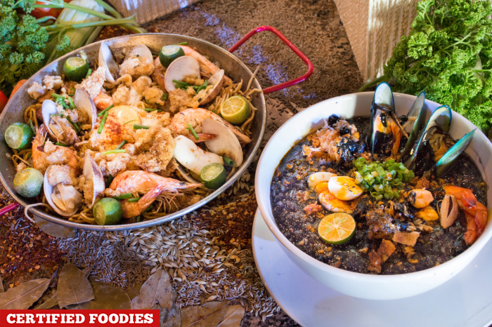 Pancit Paella and Arroz Caldo Negra for Fusion Flavors by SM Supermalls and Madrid Fusion Manila 2016