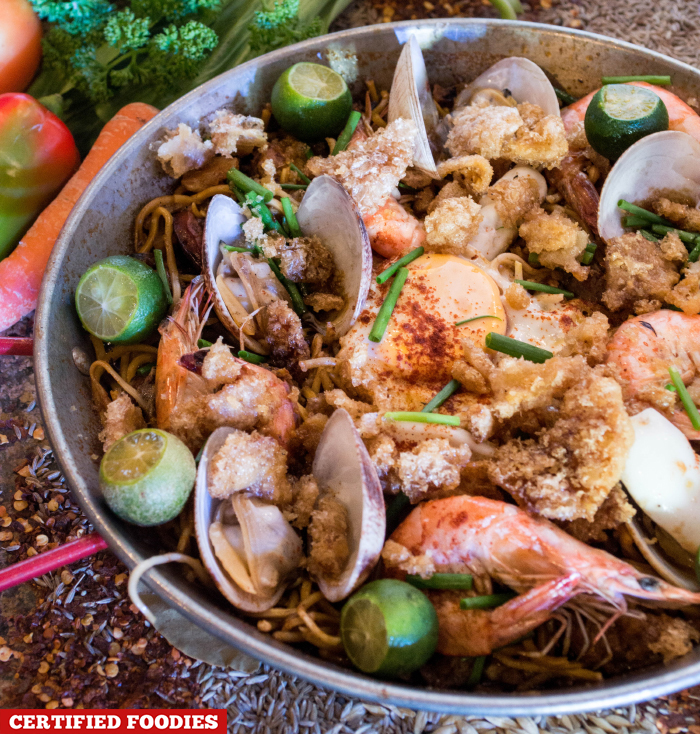 Pancit Paella by Chef Edward Bugia from Pino Kitchen for Fusion Flavors by SM Supermalls and Madrid Fusion Manila 2016