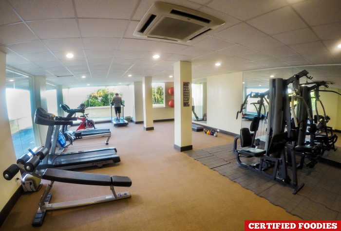 Amenities Gym of Taal Vista Hotel Tagaytay City Philippines