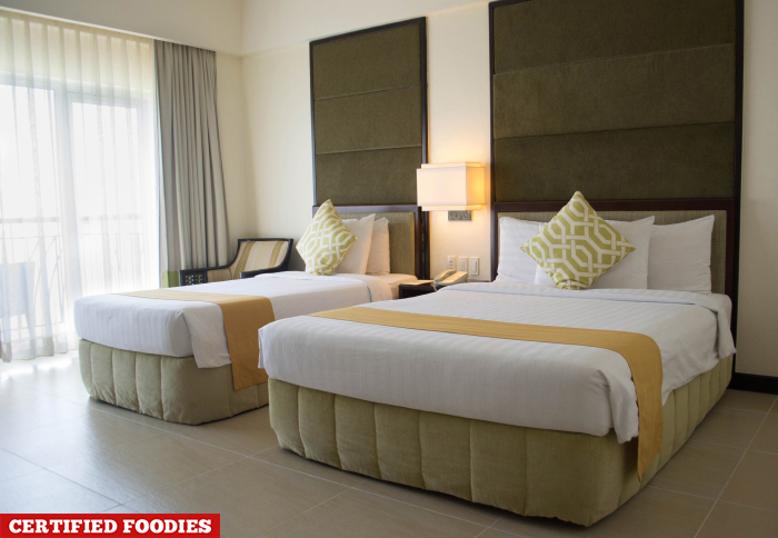 Double Bed in Taal Vista Hotel Tagaytay