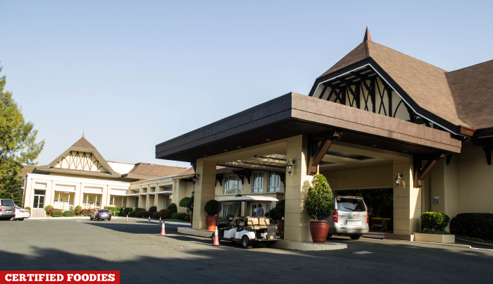 Facade of Taal Vista Hotel in Tagaytay City Philippines